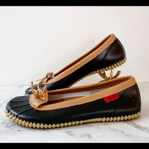 [Chooka] Duck Skimmer- Black Flats